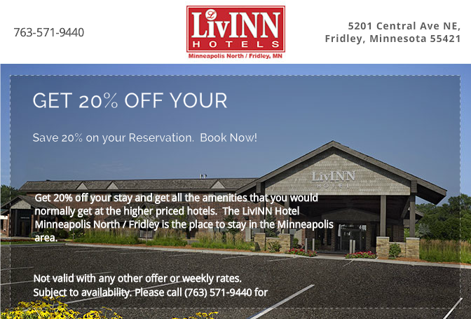 Get 20% Off Your Stay!