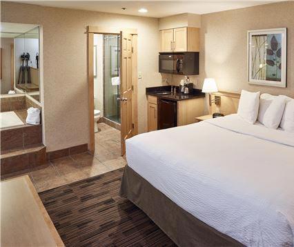Rooms at LivINN Hotel Minneapolis North/Fridley
