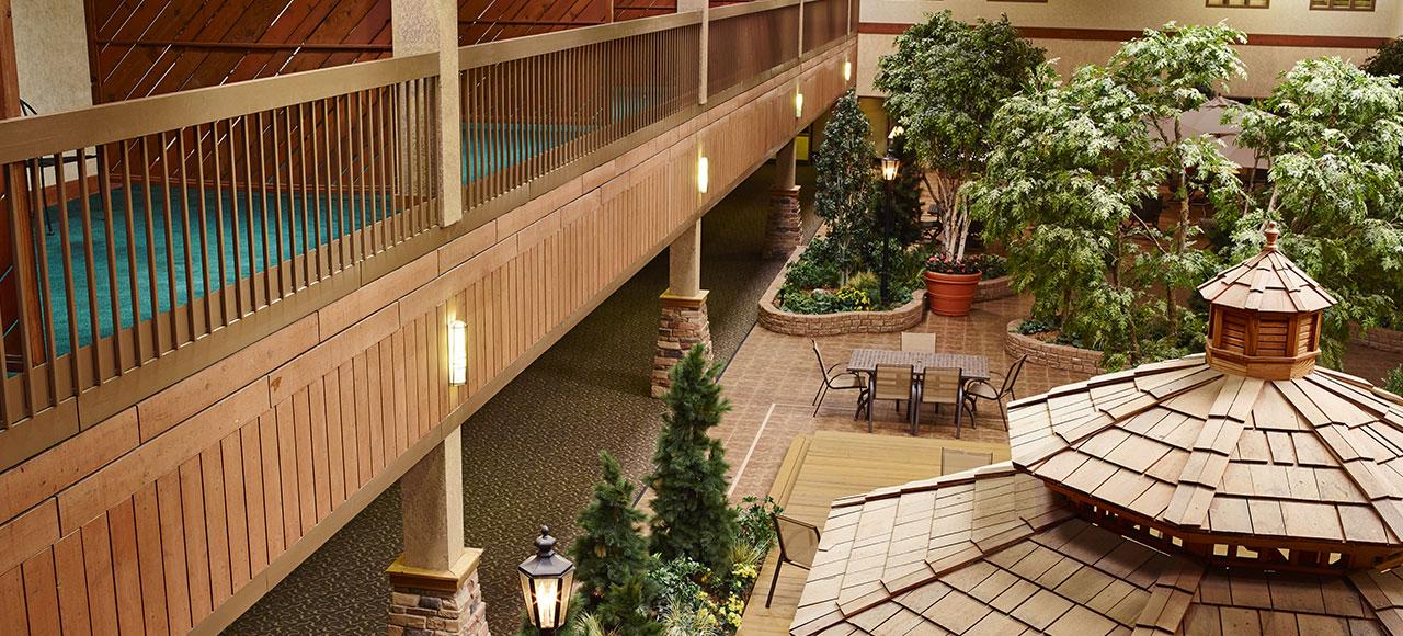 Location of LivINN Hotel Minneapolis North/Fridley