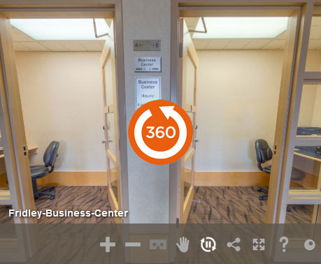 Business-center at LivINN Hotel Minneapolis North/Fridley