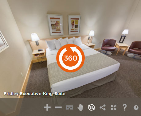 Executive King Accessible Non Smoking at LivINN Hotel Minneapolis North/Fridley