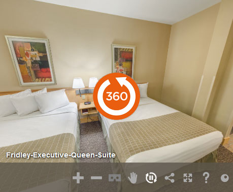 Executive Queen Non Smoking in LivINN Hotel Minneapolis North/Fridley