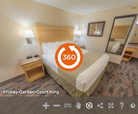 Garden Court King Non Smoking in at LivINN Hotel Minneapolis North/Fridley