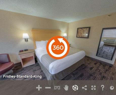 Standard King Non Smoking in LivINN Hotel Minneapolis North/Fridley